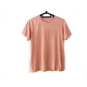 【中古】 モンベル mont-bell 半袖Tシャツ サイズS レディース サーモンピンク