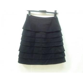 【中古】 エフデ ef-de スカート サイズ9 M レディース 黒