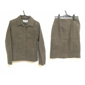 【中古】 ナチュラルビューティー ベーシック スカートスーツ サイズM レディース ダークブラウン