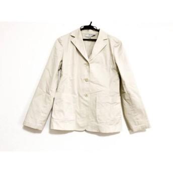 【中古】 ヴァンドゥ オクトーブル 22OCTOBRE ジャケット サイズ38 M レディース ベージュ