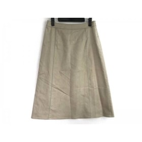 【中古】 ジユウク 自由区/jiyuku ロングスカート サイズ40 M レディース ベージュ