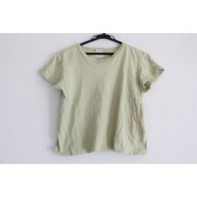 【中古】 アニエスベー agnes b 半袖Tシャツ サイズ1 S レディース ライトグリーン