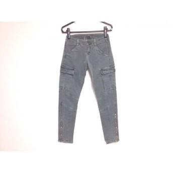 【中古】 ジェイブランド J Brand パンツ サイズ26 S レディース カーキ ダメージ加工