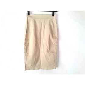 【中古】 ウィムガゼット whim gazette スカート サイズ36 S レディース ベージュ