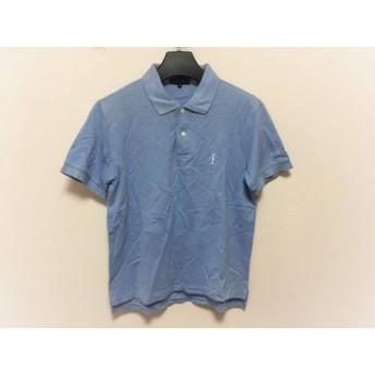 【中古】 パーリーゲイツ PEARLY GATES 半袖ポロシャツ サイズ1 S メンズ ライトブルー GOLF