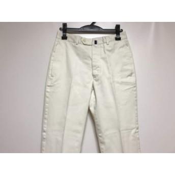 【中古】 インコテックス INCOTEX パンツ サイズ44 L メンズ 白 綿