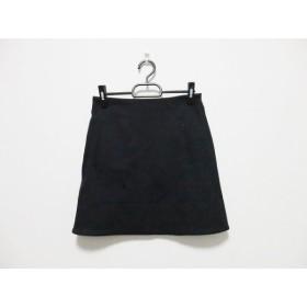 【中古】 ダイアン・フォン・ファステンバーグ・スタジオ DVF STUDIO スカート サイズ0 XS レディース 黒