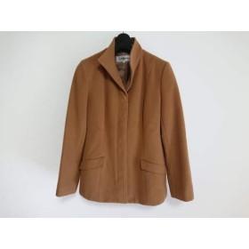 【中古】 ロートレアモン LAUTREAMONT コート サイズ2 M レディース ブラウン 冬物/ショート丈