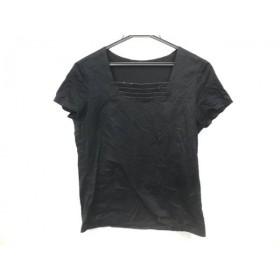 【中古】 レリアン Leilian 半袖Tシャツ サイズ11 M レディース 黒