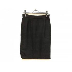【中古】 プラダ PRADA スカート サイズ46 L レディース 黒