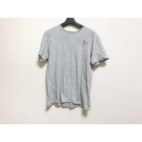 【中古】 ディーゼル DIESEL 半袖Tシャツ サイズS レディース ライトグレー