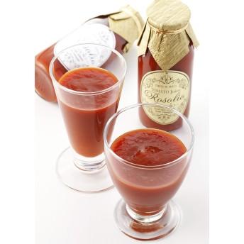 とまとの森 無添加トマトジュース ロゾリオピッコロ2種 飲み比べセット6本入