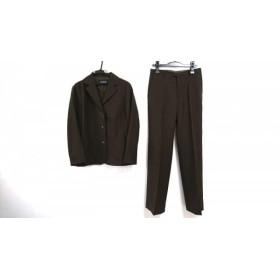 【中古】 イエナ IENA レディースパンツスーツ サイズ40 M レディース ダークブラウン