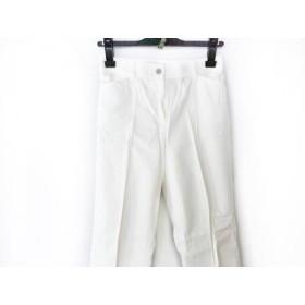 【中古】 バーバリーロンドン Burberry LONDON パンツ サイズ34 M レディース 白
