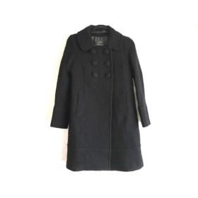 【中古】 ジョイアス joias コート サイズ2 M レディース 黒 冬物