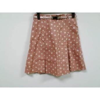 【中古】 ナラカミーチェ NARACAMICIE スカート サイズ2 M レディース ピンク ドット柄