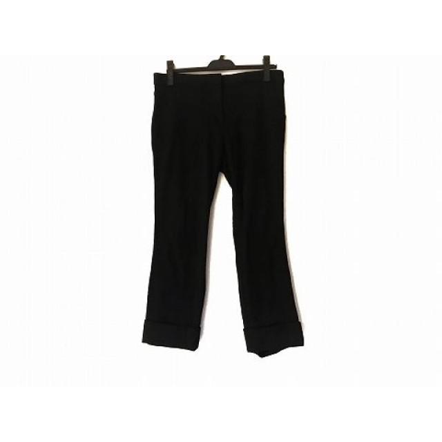 【中古】 プレインピープル PLAIN PEOPLE パンツ サイズ4 XL レディース 黒