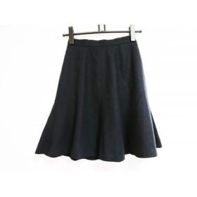 【中古】 ロペ ROPE スカート サイズ60-86 レディース 黒