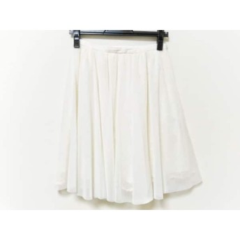 【中古】 ジャスグリッティー JUSGLITTY スカート サイズ2 M レディース アイボリー レース/花柄