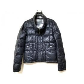 【中古】 エディション Edition ダウンジャケット サイズ38 M レディース 黒 リバーシブル/冬物