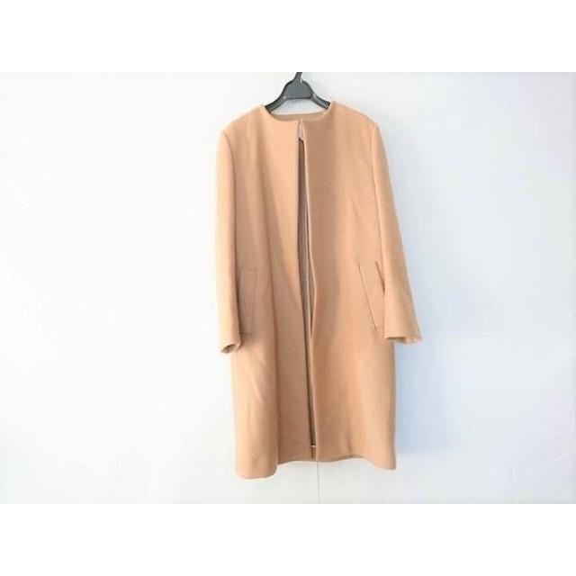 【中古】 ドゥロワー Drawer コート サイズ40 M レディース ライトブラウン 冬物