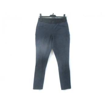 【中古】 セオリー theory パンツ サイズ2 S レディース ネイビー ブラック