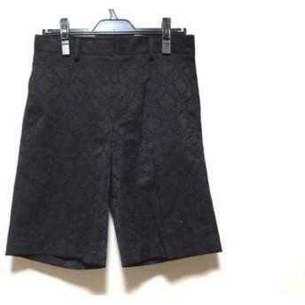 【中古】 ミズイロインド mizuiro ind パンツ サイズ2 M レディース 黒