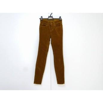 【中古】 ジェイブランド J Brand パンツ サイズ23 レディース ライトブラウン コーデュロイ