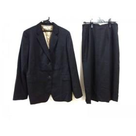 【中古】 ニジュウサンク 23区 スカートスーツ レディース 黒