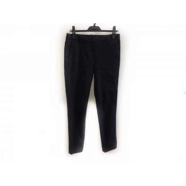 【中古】 セオリー theory パンツ サイズ0 XS レディース 黒