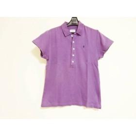 【中古】 ジムフレックス Gymphlex 半袖ポロシャツ サイズ14 XL レディース パープル