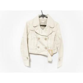 【中古】 ポールカ PAULEKA ジャケット サイズ38 M レディース 美品 白