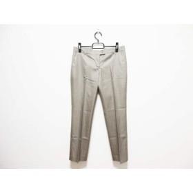【中古】 トゥモローランド パンツ サイズ40 M レディース ダークブラウン ベージュ 千鳥格子