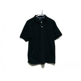 【中古】 モンベル mont-bell 半袖ポロシャツ サイズM メンズ 黒
