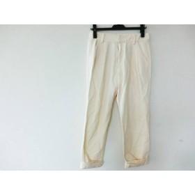 【中古】 ルシェルブルー LE CIEL BLEU パンツ サイズ36 S レディース アイボリー