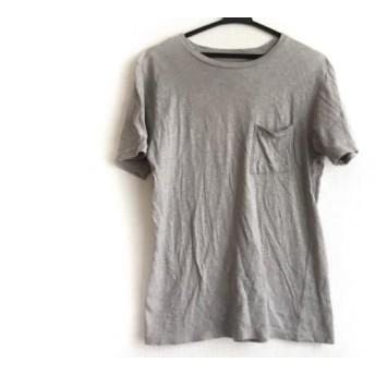 【中古】 サタデーズ サーフ ニューヨーク SATURDAYS SURF NYC 半袖Tシャツ サイズS レディース グレー
