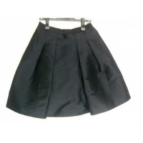 【中古】 ニジュウサンク 23区 スカート サイズ40 M レディース 黒