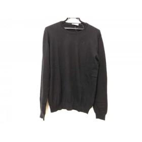 【中古】 プラダ PRADA 長袖セーター メンズ 黒
