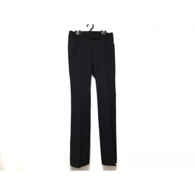 【中古】 バーバリーロンドン Burberry LONDON パンツ サイズ36 M レディース 黒
