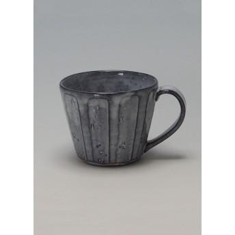 萩焼窯元 松光山 【萩焼】青釉 カフェオレカップ