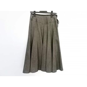 【中古】 ロイスクレヨン Lois CRAYON スカート サイズM レディース ダークブラウン