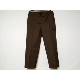 【中古】 セオリー theory パンツ サイズ2 S レディース 美品 ダークブラウン