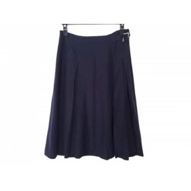 【中古】 ダーマコレクション DAMAcollection スカート サイズ64 レディース ネイビー