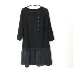 【中古】 アルチザン ARTISAN ワンピース サイズM〜L レディース 黒