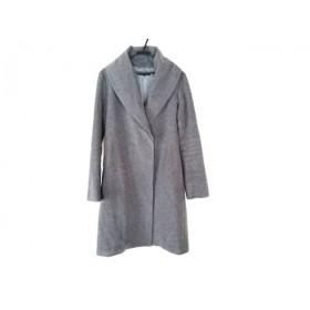 【中古】 モガ MOGA コート サイズ3 L レディース グレー 冬物