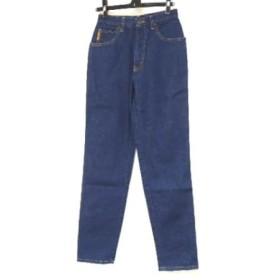 【中古】 アルマーニジーンズ ARMANIJEANS ジーンズ サイズ27 M レディース 美品 ブルー