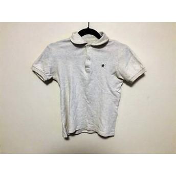【中古】 ジムフレックス Gymphlex 半袖ポロシャツ サイズ12 L レディース アイボリー