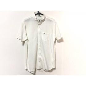 【中古】 ラコステ Lacoste 半袖シャツ サイズ5 XL メンズ アイボリー