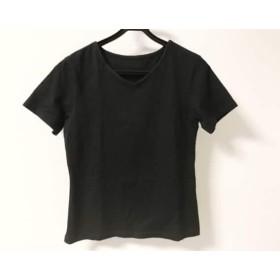 【中古】 リコヒロコビス +RICO HIROKOBIS 半袖Tシャツ レディース 黒