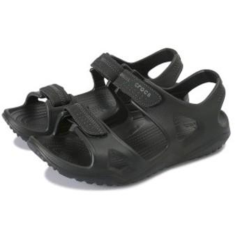 【crocs】 クロックス swiftwater river sandal men スウィフトウォーター 203965-060 black/black 28cm